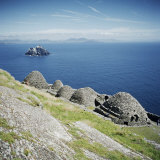 Ancient Monastic Settlement in Skellig Michael, County Kerry, Munster, Republic of Ireland Photographic Print by Andrew Mcconnell