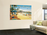 Waikiki Beach Poster géant