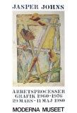 Works in Progress Samlertryk af Jasper Johns