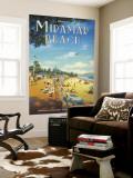 Miramar Beach, Montecitos Poster géant