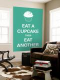 Eat A Cupcake Seinämaalaus