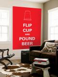 Flip Cup Vægplakat