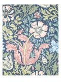 Compton Wallpaper, Paper, England, Late 19th Century Reproduction procédé giclée par William Morris