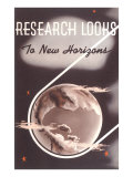 Research Looks to New Horizons Giclée-Premiumdruck