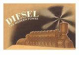 Diesel the Modern Power Kunstdrucke