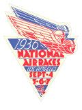 1936 National Air Races Logo Prints