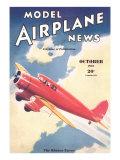 Model Airplane News Magazine Cover Premium-giclée-vedos