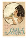 Princess Kissing Frog Prince Posters