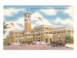 Missouri Pacific Railroad Station, Little Rock, Arkansas Kunstdrucke