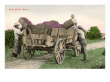 Ready for the Winery, Grape Harvest Stampe