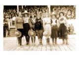 Seven Cowgirls Prints