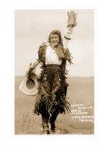 Exultant Cowgirl Prints