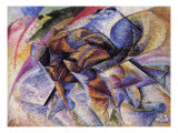 The Dynamism of a Cyclist Giclee Print by Umberto Boccioni