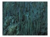 Stage of Mind: Those Who Stay Giclee-trykk av Umberto Boccioni