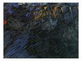 Stage of Mind: Those Who Go Giclee-trykk av Umberto Boccioni