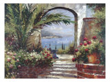 Rose Arch Premium Giclee Print by Peter Bell