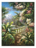 Paradise Fountain Prints by James Reed