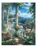 Seaside Terrace Prints by James Reed