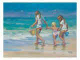 Mother's Helpers Premium Giclee Print by Lucelle Raad