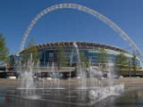 New Stadium, Wembley, London, England, United Kingdom, Europe Reproduction photographique par Charles Bowman