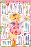 Multiplication Table - Fairy Poster