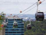 Sentosa Island Cable Cars, Singapore Reproduction photographique par Pearl Bucknall