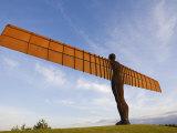 Angel of the North, Gateshead, Tyne and Wear, England, United Kingdom, Europe Reproduction photographique par Jean Brooks