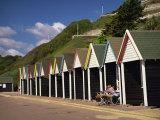 West Cliff, Bournemouth, Dorset, England, UK Reproduction photographique par Pearl Bucknall