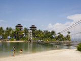 Palawan Beach, Sentosa Island, Singapore, Southeast Asia Reproduction photographique par Pearl Bucknall