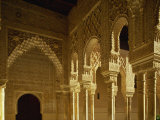 Court of the Lions in the Alhambra Palace in Granada, Andalucia, Spain Reproduction photographique par Michael Busselle
