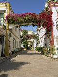 Little Venice's Alleyways, Puerto De Morgan, Gran Canaria, Canary Islands, Spain Reproduction photographique par Pearl Bucknall