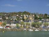 Across the Touques River, Deauville, Normandy, France, Europe Reproduction photographique par Pearl Bucknall