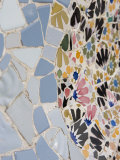 Detail, Parc Guell, UNESCO World Heritage Site, Barcelona, Catalonia, Spain, Europe Impressão fotográfica por Martin Child