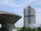 Bmw Welt and Headquarters, Munich, Bavaria, Germany, Europe Impressão fotográfica por Gary Cook