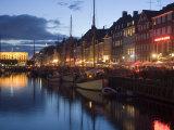 Nyhavn, Copenhagen, Denmark, Scandinavia, Europe Impressão fotográfica por Marco Cristofori