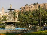 General Torrijos Square and Alcazaba, Malaga, Andalucia, Spain, Europe Impressão fotográfica por Marco Cristofori