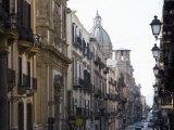 Street Scene, Palermo, Sicily, Italy, Europe Impressão fotográfica por Martin Child