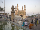 Mecca Masjid Mosque, Hyderabad, Andhra Pradesh State, India Impressão fotográfica por Marco Cristofori
