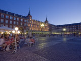 Plaza Mayor, Madrid, Spain, Europe Impressão fotográfica por Marco Cristofori