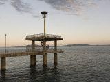 Wharf, Burgas, Black Sea Coast, Bulgaria, Europe Photographic Print by Marco Cristofori