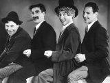 Animal Crackers, Chico Marx, Groucho Marx, Harpo Marx, Zeppo Marx, 1930 Foto