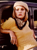Bonnie and Clyde, Faye Dunaway, 1967 Fotografia