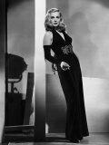 Dead Reckoning, Lizabeth Scott, Modeling a Gown by Jean Louis, 1947 Foto