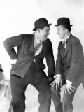 Stan Laurel and Oliver Hardy, c.1930s Foto