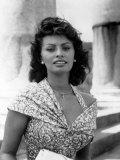 Boy on a Dolphin, Sophia Loren, 1957 写真