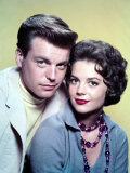 Robert Wagner, Natalie Wood in the 1950s Foto