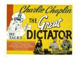 The Great Dictator, Paulette Goddard, Charles Chaplin, Jack Oakie, 1940 Foto