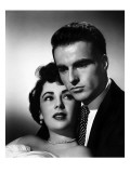 A Place in the Sun, Elizabeth Taylor, Montgomery Clift, 1951 Photographie