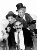 Marx Brothers - Groucho Marx, Chico Marx, Harpo Marx, 1936 Fotografía