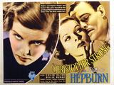 Christopher Strong, Katharine Hepburn, Colin Clive, 1933 Fotografia